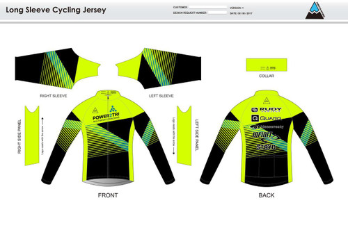 Gabe Long Sleeve Cycling Jersey
