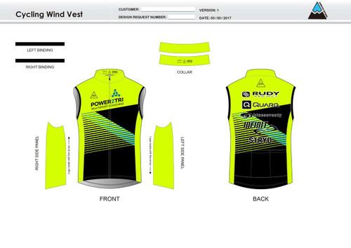 Gabe Cycling Wind Vest