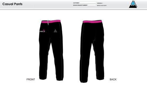 Power2Tri Pink Warm Up Pants