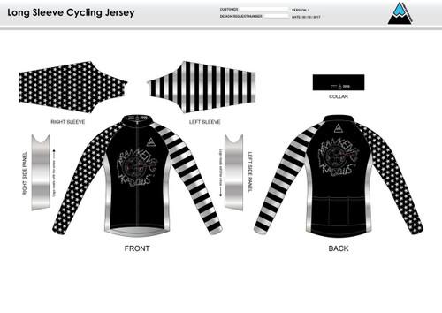 Kadous Long Sleeve Cycling Jersey