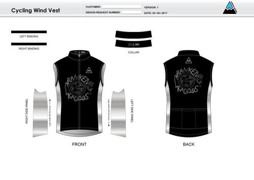 Kadous Cycling Wind Vest