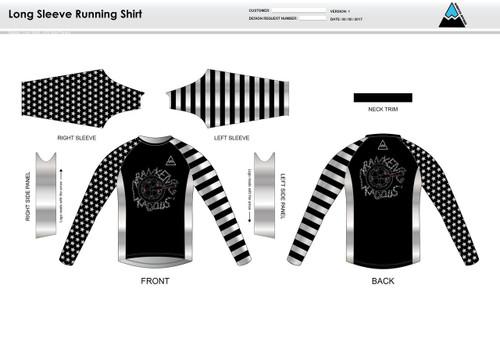 Kadous Long Sleeve Running Shirt