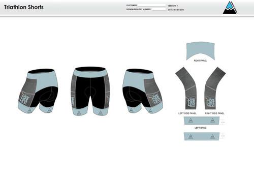 Be A Legend Men's Tri Shorts