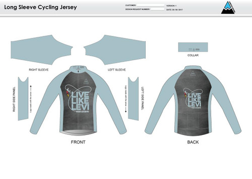 Be A Legend Long Sleeve Thermal Cycling Jersey
