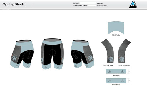 Be A Legend Cycling Shorts