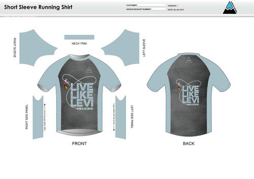 Be A Legend Short Sleeve Running Shirt