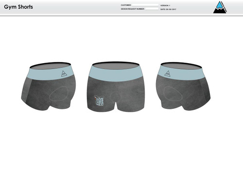 Be A Legend Women's Compression Fitness Shorts