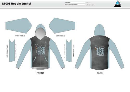 Be A Legend Hoodie Jacket