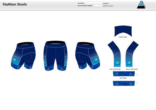 Nicoli Men's Tri Shorts