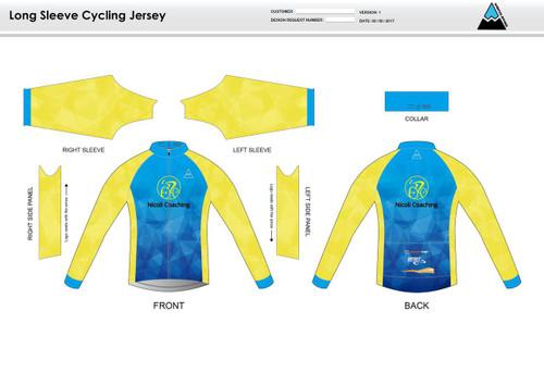 Nicoli Long Sleeve Cycling Jersey