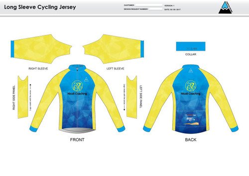 Nicoli Long Sleeve Thermal Cycling Jersey