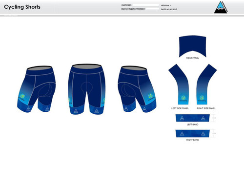 Nicoli Cycling Shorts