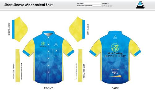 Nicoli Mechanic Shirt - UNISEX Sizing