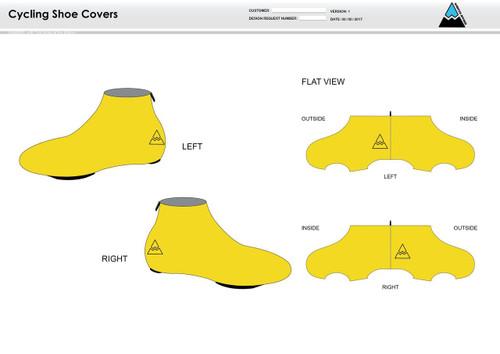 Aspen Cycling Shoe Covers