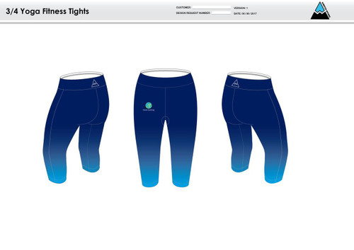 Nicoli Women's 3/4 Fitness Tights