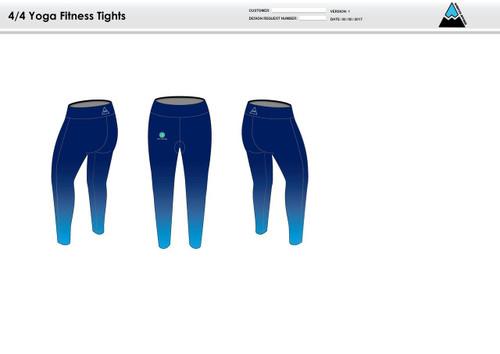 Nicoli Women's Full Length Fitness Tights