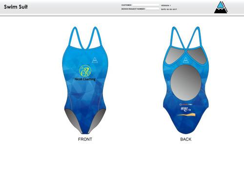 Nicoli Women's One Piece Swimsuit