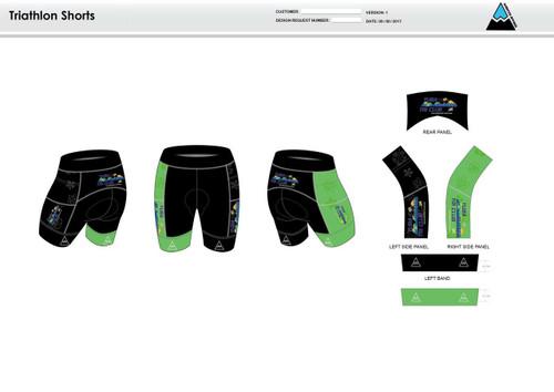 Yuba Sutter Men's Tri Shorts