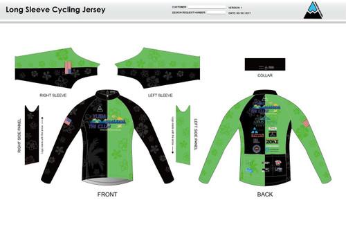 Yuba Sutter Long Sleeve Thermal Cycling Jersey