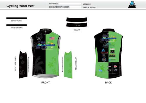 Yuba Sutter Cycling Wind Vest