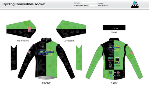 Yuba Sutter Convertible Jacket