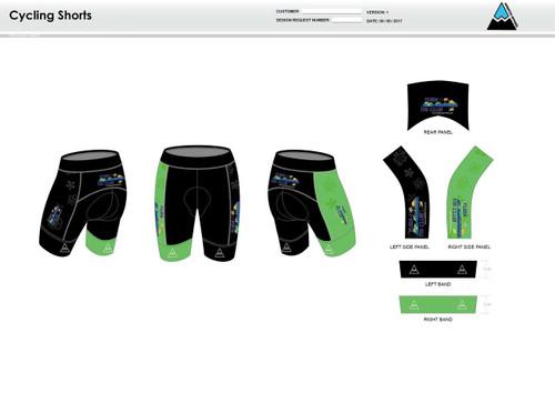 Yuba Sutter Cycling Shorts