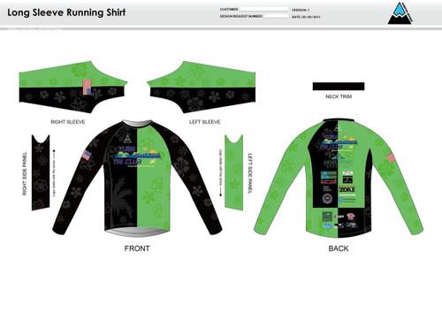 Yuba Sutter Long Sleeve Running Shirt