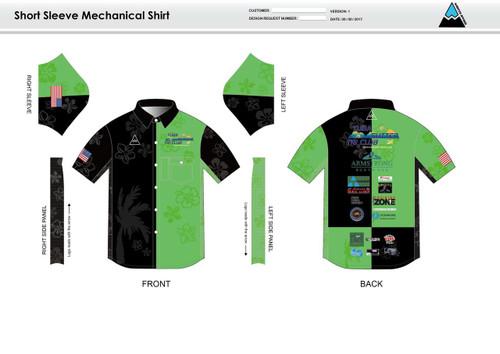 Yuba Sutter Youth Mechanic Shirt