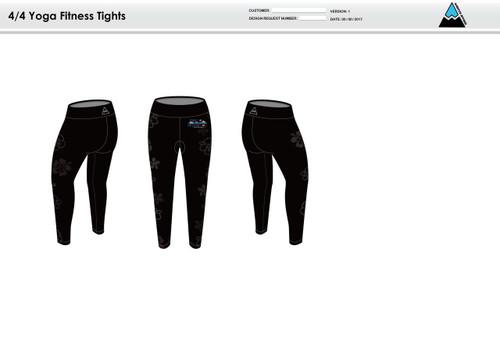 Yuba Sutter Women's Full Length Fitness Tights