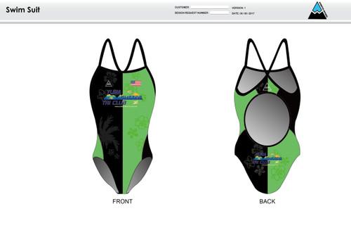 Yuba Sutter Women's One Piece Swimsuit