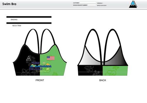 Yuba Sutter Women's Two Piece Swimsuit