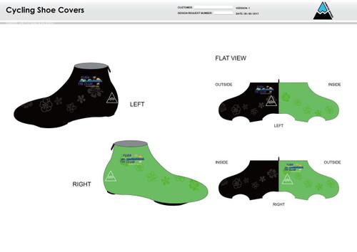Yuba Sutter Cycling Shoe Covers