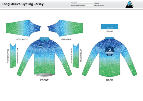 Crusies Crew Long Sleeve Thermal Cycling Jersey
