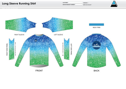 Crusies Crew Long Sleeve Running Shirt