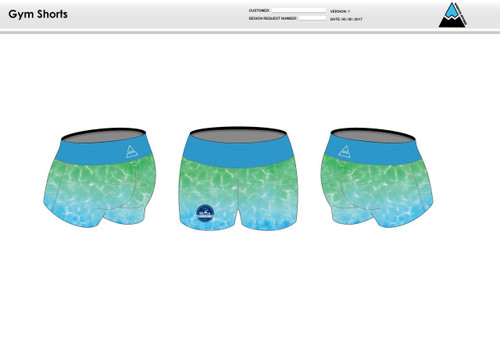 Crusies Crew Women's Compression Fitness Shorts