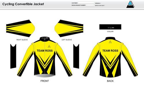 Team Ross Convertible Jacket