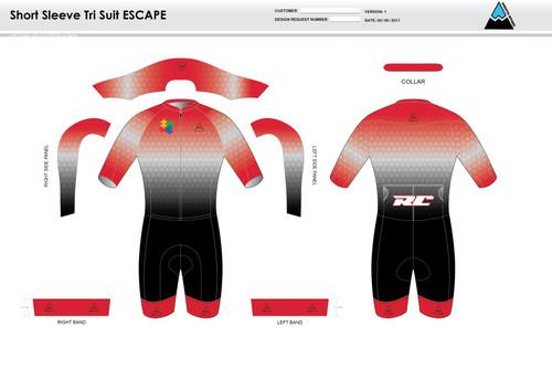 Cannon ESCAPE Short Sleeve Tri Suit
