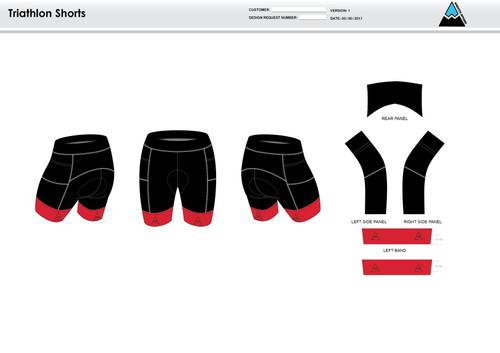 Cannon Men's Tri Shorts