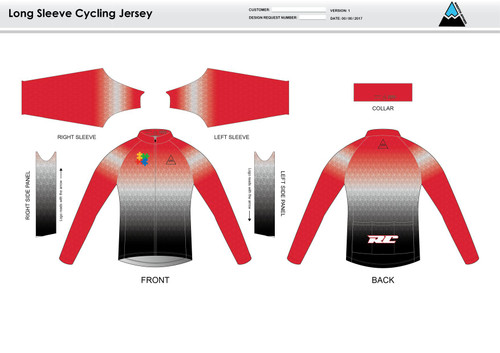 Cannon Long Sleeve Cycling Jersey