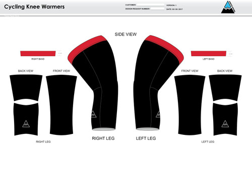 Cannon Cycling Knee Sleeves