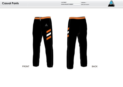Excell Black Warm Up Pants