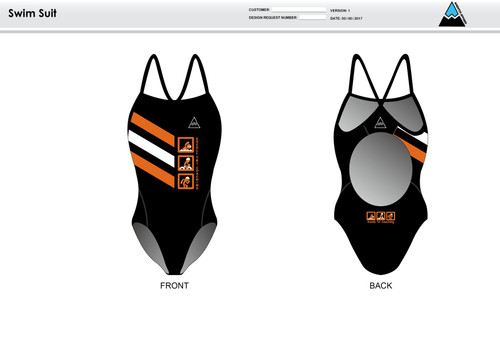 Excell Black Women's One Piece Swimsuit