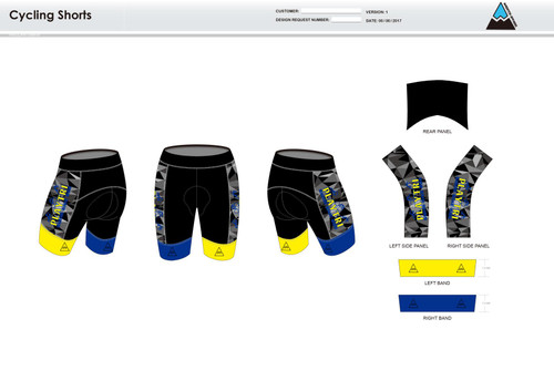 Playtri Norwalk Cycling Shorts
