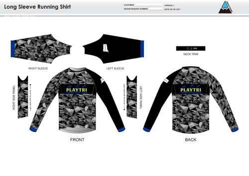 Playtri Norwalk Long Sleeve Running Shirt