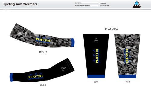 Playtri Norwalk Cycling Arm Sleeves