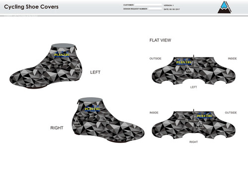 Playtri Norwalk Cycling Shoe Covers