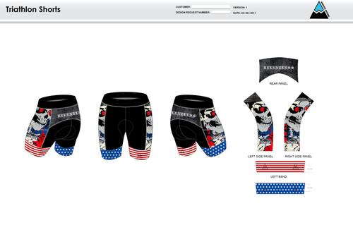 Bingham Men's Tri Shorts