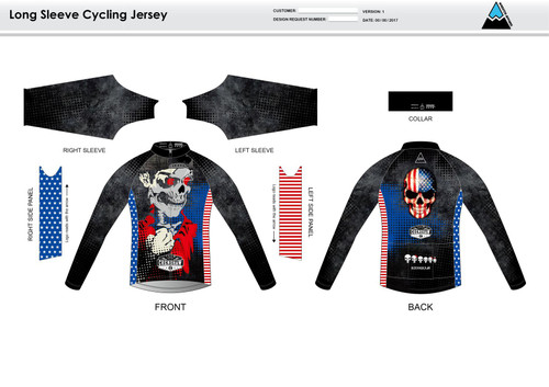 Bingham Long Sleeve Cycling Jersey