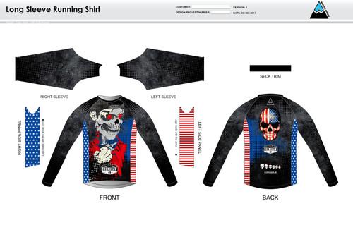 Bingham Long Sleeve Running Shirt