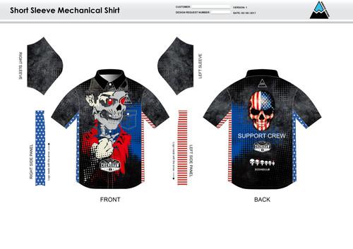 Bingham Adult Mechanic Shirt - UNISEX Sizing
